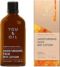 Perfumería y cosmética Loción facial con aceite de ámbar y agua mineral 100% natural - You & Oil Moisturising Face Bio Lotion Amber Oil+Mineral Water