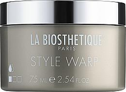 Perfumería y cosmética Cera moldeadora de cabello con brillo, fijación baja - La Biosthetique Style Warp