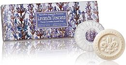 Perfumería y cosmética Set jabón artesanal con aroma a lavanda, 3uds. - Saponificio Artigianale Fiorentino Lavender Soap