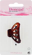 Perfumería y cosmética Pinza de pelo, FA-5805, marrón transparente - Donegal