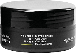 Perfumería y cosmética Pasta de peinado matificante, fijación media - Alfaparf Milano Blends Of Many Matte Paste