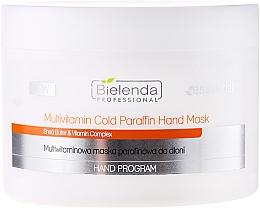 Perfumería y cosmética Mascarilla de manos con manteca de karité y multivitaminas - Bielenda Professional Multivitamin Cold Paraffin Hand Mask