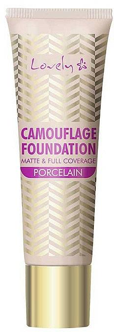 Base de maquillaje cremosa de alta cobertura y larga duración con efecto mate - Lovely Camouflage Foundation