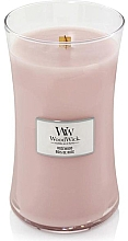 Perfumería y cosmética Vela aromática, palo de rosa - WoodWick Hourglass Candle Rosewood