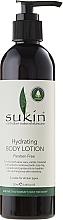 Perfumería y cosmética Loción corporal regeneradora con aloe vera, cola de caballo, aceites de aguacate y jojoba - Sukin Hydrating Body Lotion