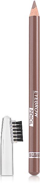 Lápiz de cejas con cepillo - Luxvisage Eyebrow Pencil