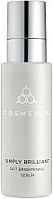 Perfumería y cosmética Sérum facial iluminador con ácido salicílico - Cosmedix Simply Brilliant 24/7 Brightening Serum