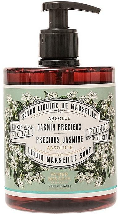 Jabón líquido de Marsella con aroma a jazmín - Panier Des Sens Liquid Marseille Soap Precious Jasmine — imagen N1