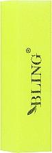 Perfumería y cosmética Bloque pulidor de uñas, amarillo - Bling