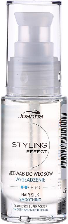 Seda para cabello, propiedades reconstituyentes - Joanna Styling Effect Hair Silk
