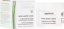 Perfumería y cosmética Crema gel facial hidratante con aceite de sándalo para pieles sensibles - Apeiron Hydro Sensitiv Cream 24h
