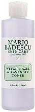 Perfumería y cosmética Tónico facial con hamamelis y lavanda - Mario Badescu Witch Hazel & Lavender Toner