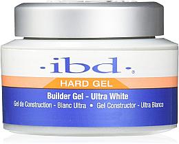 Perfumería y cosmética Gel constructor de uñas, ultra blanco - IBD Builder Gel Ultra White