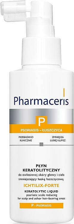 Tratamiento queratolítico para cuero cabelludo reductor de caspa - Pharmaceris P Ichtilix Forte