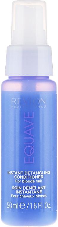 Acondicionador desenredante para cabello rubio - Revlon Professional Equave 2 Phase Blonde Detangling Conditioner — imagen N7