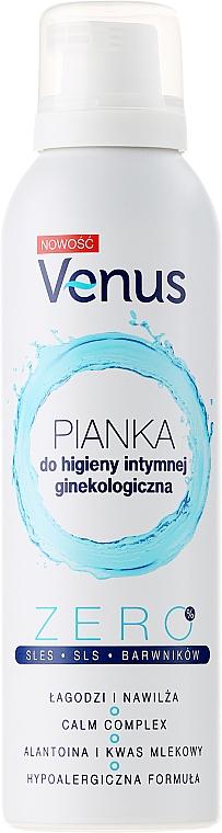 Espuma de higiene íntima con alantoína y ácido láctico, hipoalergénica - Venus Pro-Sensitive Intimate Foam