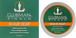 Perfumería y cosmética Jabón de afeitar hidratante con manteca de karité - Clubman Pinaud Shave Soap