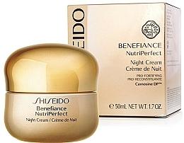 Crema de noche con ácido cítrico - Shiseido Benefiance NutriPerfect Night Cream  — imagen N2