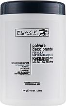 Perfumería y cosmética Polvo decolorante profesional para mechas, azul (tarro) - Black Professional Line Bleaching Powder Blue