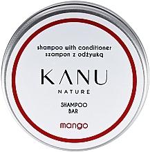 Perfumería y cosmética Champú acondicionador 2en1 sólido con extracto de mango en caja metálica - Kanu Nature Shampoo With Conditioner Shampoo Bar Mango