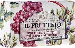 Perfumería y cosmética Jabón con uvas rojas & arándano - Nesti Dante Il Frutteto