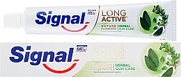 Perfumería y cosmética Pasta dental para cuidado de encías a base de hierbas - Signal Long Active Nature Elements