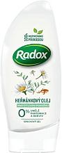 Perfumería y cosmética Gel de ducha con aceite de camomila - Radox Natural Shower Gel