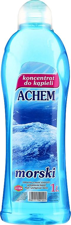 Espuma de baño concentrada con aroma marino - Achem Concentrated Bubble Bath Sea