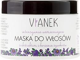 Perfumería y cosmética Mascarilla capilar intensiva con extracto de raíz de consuelda - Vianek Hair Mask