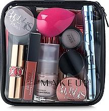 Perfumería y cosmética Neceser cosmético, transparente (15x15x5cm) - MakeUp Visible Bag (sin contenido)