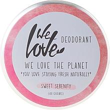 Perfumería y cosmética Desodorante crema natural con aceite de coco - We Love The Planet Deodorant Sweet Serenity