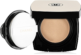 Perfumería y cosmética Base de maquillaje compacta con aplicador, SPF25 - Chanel Les Beiges Healthy Glow Gel Touch Foundation SPF 25 / PA+++ (bloque de recambio)