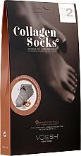 Perfumería y cosmética Tratamiento intensivo en calcetines de colágeno - Voesh Collagen Socks Value Pack