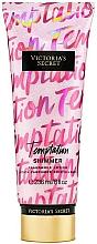 Perfumería y cosmética Loción perfumada con purpurina para manos y cuerpo con aroma a manzana - Victoria's Secret Temptation Shimmer Body Lotion