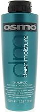 Perfumería y cosmética Champú hidratante con aceite de argán y queratina - Osmo Deep Moisture Shampoo