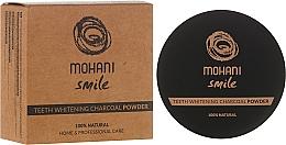 Perfumería y cosmética Polvo dental blanqueador de carbón - Mohani Smile Teeth Whitening Charcoal Powder