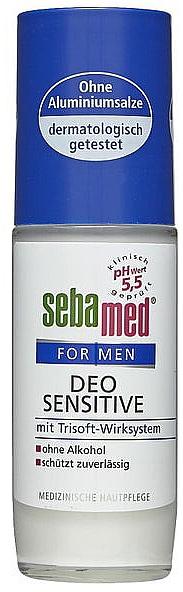 Desodorante antitranspirante roll-on para pieles sensibles, sin alcohol - Sebamed For Men Deo Sensetive Roll-On
