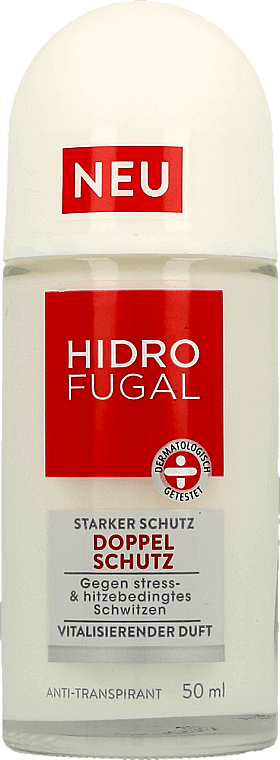 Desodorante antitranspirante roll on, doble protección - Hidrofugal Double Protection Roll-on
