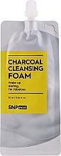 Perfumería y cosmética Espuma de limpieza facial con polvo de carbón - SNP Mini Carcoal Cleansing Foam (mini)
