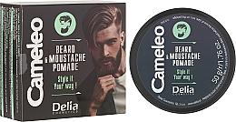 Perfumería y cosmética Cera modeladora para barba y bigote - Delia Cameleo Men Beard and Moustache Pomade