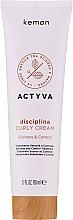 Perfumería y cosmética Crema para definición de rizos - Kemon Actyva Disciplina Curly Cream