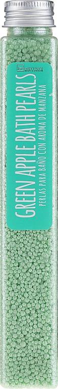 Perlas de baño con aroma de manzana verde - IDC Institute Bath Pearls Green Apple