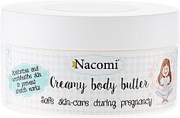 Perfumería y cosmética Manteca corporal antiestrías con karité, aceite de almendras e inca inchi - Nacomi Pregnant Care Creamy Body Butter