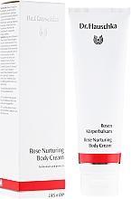 Perfumería y cosmética Crema corporal con extracto de rosa damascena, aceites de almendra y jojoba - Dr. Hauschka Rose Nurturing Body Cream