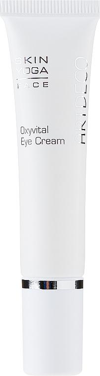 Crema regeneradora para contorno de ojos con manteca de karité y extracto de kombucha - Artdeco Oxyvital Eye Cream — imagen N2