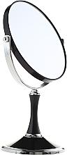 Perfumería y cosmética Espejo cosmético de doble cara, 85642, negro - Top Choice
