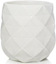 Perfumería y cosmética Lámpara eléctrica de vidrio calentadora de cera, 14x13cm - Yankee Candle Langham