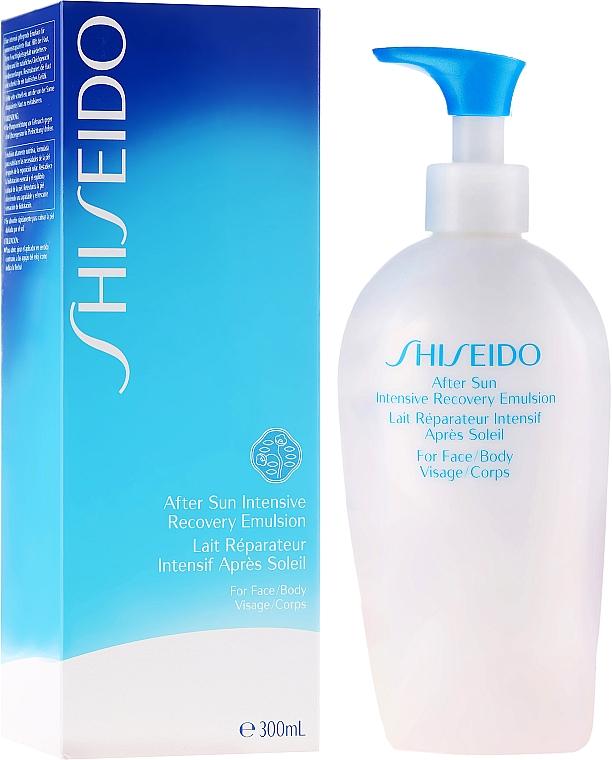 Emulsión aftersun para cuerpo y rostro con extracto de raíz de escutelaria - Shiseido Suncare After Sun Intensive Recovery Emulsion — imagen N1
