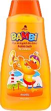 Perfumería y cosmética Baño de burbujas con aroma exotico - Bambi