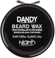 Perfumería y cosmética Cera modeladora para barba y bigote - Niamh Hairconcept Dandy Beard Wax Modelling